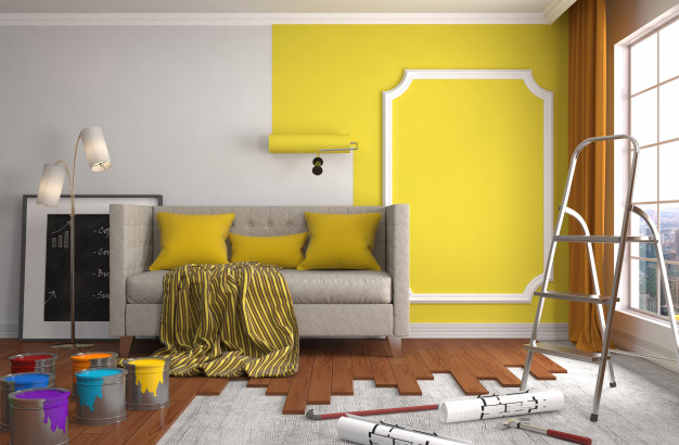 Painting services in Dubai by Precision Skills